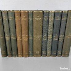 Libros antiguos: LA SAGRADA BIBLIA - FUNDACIÓ BÍBLICA CATALANA - EDITORIAL ALPHA - 11 TOMOS - EN CATALÀ - AÑO 1929. Lote 269420113