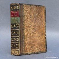 Libros antiguos: 1807 - BIBLIA VULGATA EN ESPAÑOL - ANTIGUO TESTAMENTO - LOS SALMOS, VERSIÓN DE SAN JERÓNIMO. Lote 270346813
