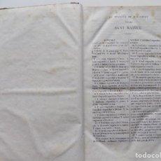 Livros antigos: LIBRERIA GHOTICA. PRIMERA EDICIÓN EN CATALÁN DEL NUEVO TESTAMENTO SEGÚN SAN MATEO. 1815. Lote 270576833
