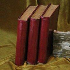 Libros antiguos: OBRAS COMPLETAS DE SANTA TERESA DE JESÚS, 1902, GONZÁLEZ ROJAS, EDITOR, TRES TOMOS. Lote 270914383