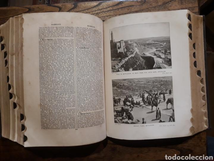 Libros antiguos: DICTIONARY OF THE BIBLE. 1910 James Hastings. Ilustrado. Úñero. Diccionario Biblia. Bíblico. - Foto 18 - 274390648
