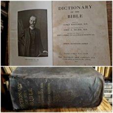Libros antiguos: DICTIONARY OF THE BIBLE. 1910 JAMES HASTINGS. ILUSTRADO. ÚÑERO. DICCIONARIO BIBLIA. BÍBLICO.. Lote 274390648