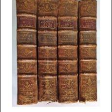 Libros antiguos: AÑO 1716: 4 PRECIOSOS VOLÚMENES DE BOUDALOUE DEL SIGLO XVIII. + DE 300 AÑOS.. Lote 293451258