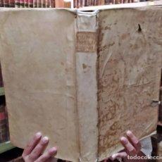 Libros antiguos: AÑO 1764: GRAN LIBRO EN PERGAMINO DEL SIGLO XVIII. DE JOANNIS BONA. IN FOLIO.. Lote 275019773