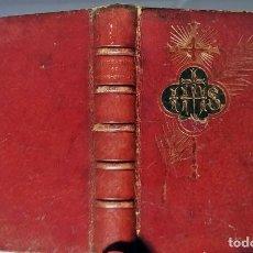 Libri antichi: AÑO 1893: IMITACIÓN DE CRISTO. BONITO EJEMPLAR DE PEQUEÑO TAMAÑO. 11 CM. SIGLO XIX.. Lote 293451008