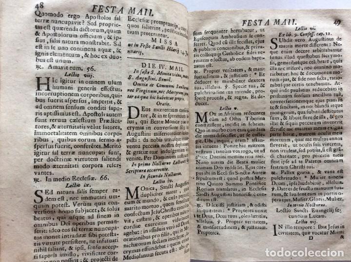 Libros antiguos: Officia Nova aut Innovata, ( 1721 ), Raro - Foto 7 - 275989263