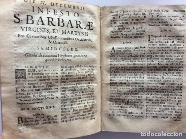 Libros antiguos: Officia Nova aut Innovata, ( 1721 ), Raro - Foto 12 - 275989263