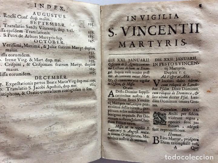 Libros antiguos: Officia Nova aut Innovata, ( 1721 ), Raro - Foto 14 - 275989263