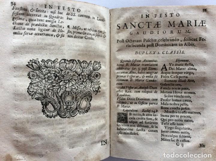 Libros antiguos: Officia Nova aut Innovata, ( 1721 ), Raro - Foto 15 - 275989263