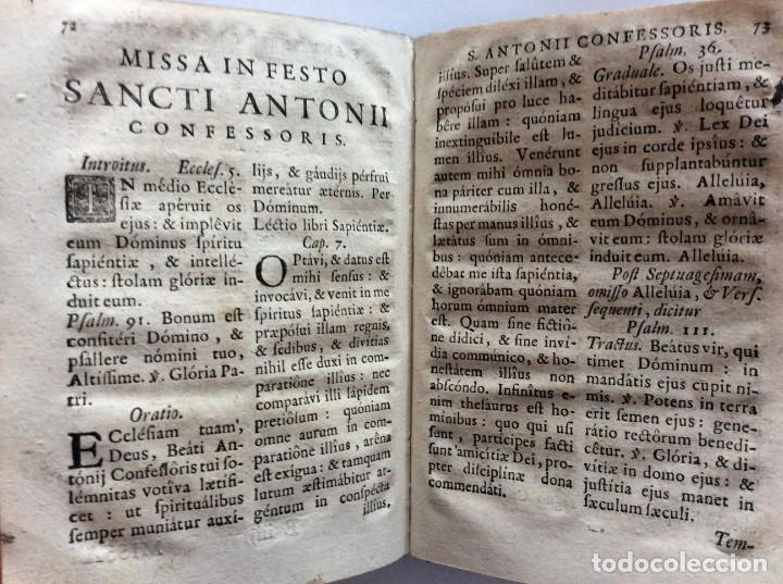 Libros antiguos: Officia Nova aut Innovata, ( 1721 ), Raro - Foto 18 - 275989263