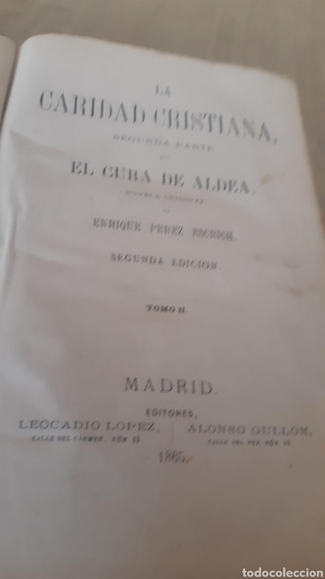Libros antiguos: La caridad Cristiana, tomo II de 1865 - Foto 2 - 276550358