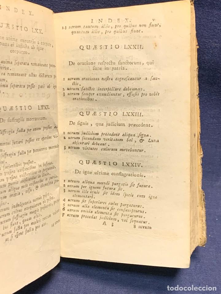 Libros antiguos: LIBRO SUMMA THEOLOGIE S. THOMAE VOL 2 VENETIIS 1778 VENECIA SUMA TEOLOGICA SANTO TOMAS AQUINO 17X10C - Foto 3 - 276564688