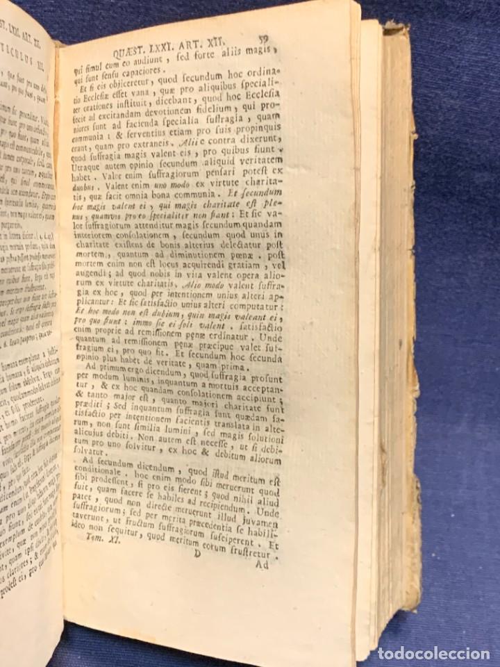 Libros antiguos: LIBRO SUMMA THEOLOGIE S. THOMAE VOL 2 VENETIIS 1778 VENECIA SUMA TEOLOGICA SANTO TOMAS AQUINO 17X10C - Foto 4 - 276564688