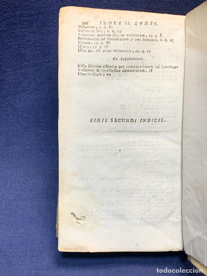 Libros antiguos: LIBRO SUMMA THEOLOGIE S. THOMAE VOL 2 VENETIIS 1778 VENECIA SUMA TEOLOGICA SANTO TOMAS AQUINO 17X10C - Foto 6 - 276564688
