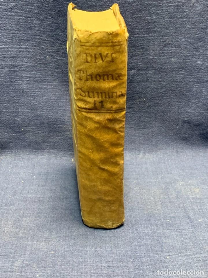 Libros antiguos: LIBRO SUMMA THEOLOGIE S. THOMAE VOL 2 VENETIIS 1778 VENECIA SUMA TEOLOGICA SANTO TOMAS AQUINO 17X10C - Foto 8 - 276564688