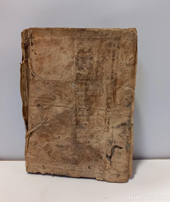 BREVIARIO CATÓLICO EN LATÍN. SIGLOS DE XVII A XVIII. CALAGURITANA 1762. (Libros Antiguos, Raros y Curiosos - Religión)