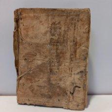 Libros antiguos: BREVIARIO CATÓLICO EN LATÍN. SIGLOS DE XVII A XVIII. CALAGURITANA 1762.. Lote 276571488