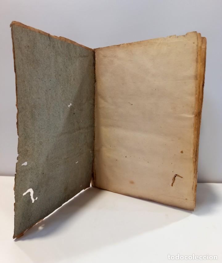 Libros antiguos: BREVIARIO CATÓLICO en latín. Siglos de XVII a XVIII. CALAGURITANA 1762. - Foto 3 - 276571488