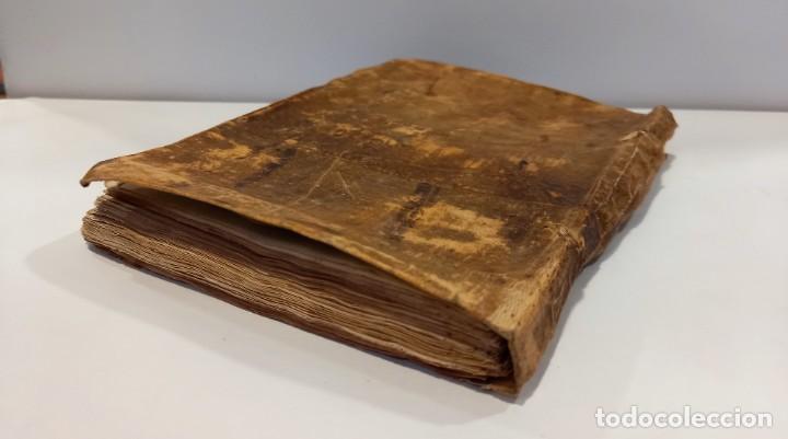 Libros antiguos: BREVIARIO CATÓLICO en latín. Siglos de XVII a XVIII. CALAGURITANA 1762. - Foto 4 - 276571488