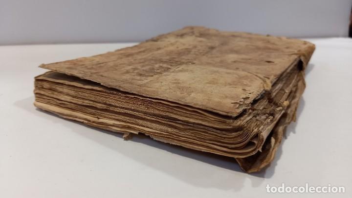 Libros antiguos: BREVIARIO CATÓLICO en latín. Siglos de XVII a XVIII. CALAGURITANA 1762. - Foto 6 - 276571488