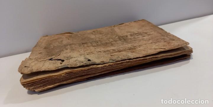 Libros antiguos: BREVIARIO CATÓLICO en latín. Siglos de XVII a XVIII. CALAGURITANA 1762. - Foto 7 - 276571488