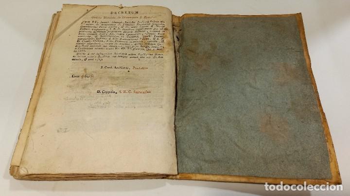Libros antiguos: BREVIARIO CATÓLICO en latín. Siglos de XVII a XVIII. CALAGURITANA 1762. - Foto 28 - 276571488
