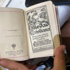Libri antichi: P. J. QUIBUS : PIEDAD CRISTIANA . EXCELENTE ESTADO. VER FOTOS. Lote 277073508