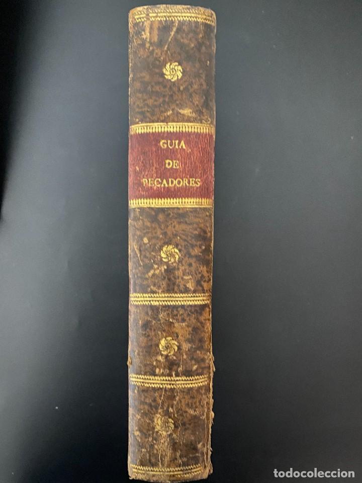 Libros antiguos: GUIA DE PECADORES. V.P.M.FR. LUIS DE GRANADA. IMPRENTA PANTALEON. AÑO 1759. PAGS: 477 - Foto 4 - 277089098