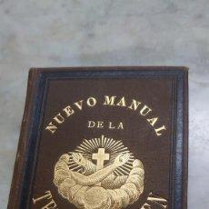 Libri antichi: PRPM 55 NUEVO MANUAL DE LA TERCERA ORDEN DE SAN FRANCISCO DE ASIS.1885. Lote 277537473