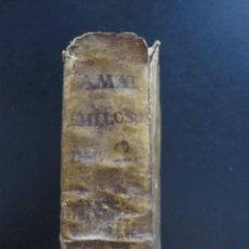 Libros antiguos: LIBRO EN PERGAMINO EN LATÍN CON APENDICE DESPLEGABLE DE LOS PLANETAS 1785. Lote 277832583