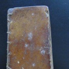 Libros antiguos: LIBRO EN CATALÁN CON TAPAS DE PERGAMINO - EJERCICIO DEL CRISTIANO - XVIII. Lote 277833678