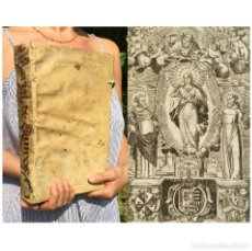 Libros antiguos: AÑO 1651 - OSUNA - VIRGEN MARIA - PERGAMINO - FOLIO - MURILLO - JUAN DE QUIROS - SEVILLA - MARIAL. Lote 278176248