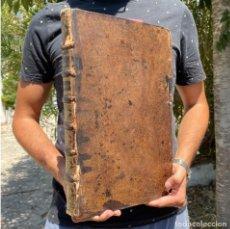 Libros antiguos: 1668 - SAN BUENAVENTURA - FRANCISCANOS - ENCUADERNACIÓN - MISTICA - GRAN FORMATO - EVANGELIOS. Lote 278353853