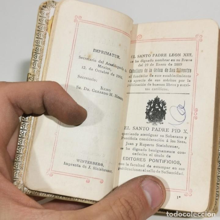 Libros antiguos: RAMILLETE DEL CRISTIANO O PRÁCTICA MANUAL DE LAS OBLIGACIONES MÁS INDISPENSABLES - 1922 - EN NÁCAR - Foto 7 - 278405203