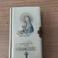 Libros antiguos: ANTIGUO LIBRITO DE COMUNIÓN. Lote 283062708