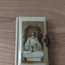 Libros antiguos: ANTIGUO LIBRITO DE COMUNIÓN. Lote 283063238