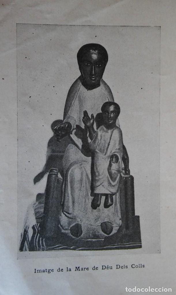 Libros antiguos: La Mare de Déu dels Colls. 1924. Sant Llorenç de Morunys. - Foto 3 - 285695033