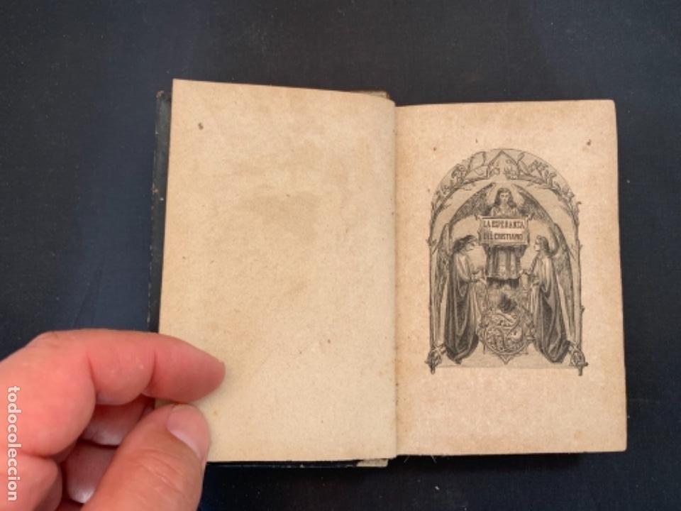 Libros antiguos: LIBRO LA ESPERANZA DEL CRISTIANO DEVOCIONARIO 1881 - Foto 4 - 285764533