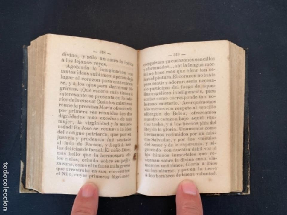 Libros antiguos: LIBRO LA ESPERANZA DEL CRISTIANO DEVOCIONARIO 1881 - Foto 6 - 285764533
