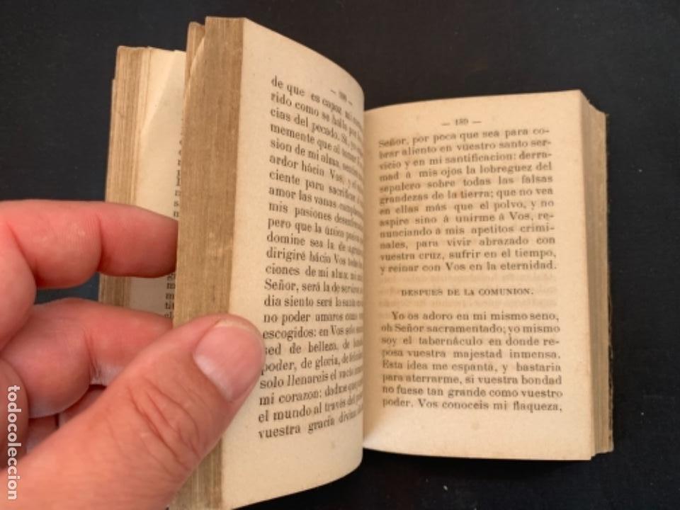 Libros antiguos: LIBRO LA ESPERANZA DEL CRISTIANO DEVOCIONARIO 1881 - Foto 7 - 285764533