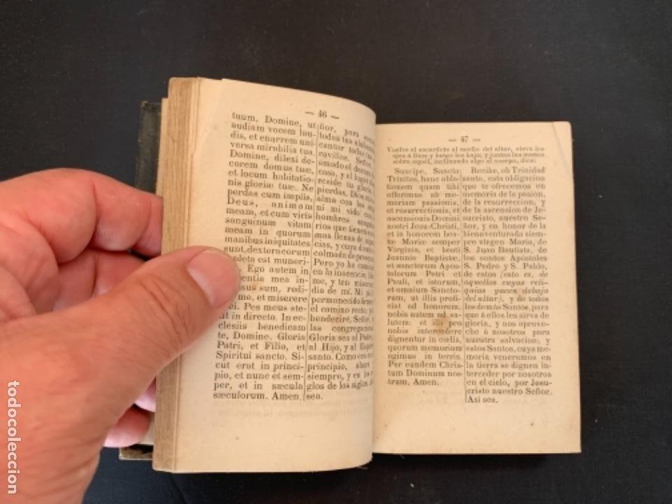 Libros antiguos: LIBRO LA ESPERANZA DEL CRISTIANO DEVOCIONARIO 1881 - Foto 8 - 285764533