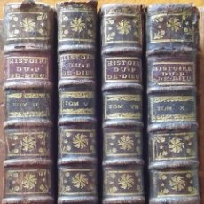 Libros antiguos: HISTORIA DEL PUEBLO DE DIOS, BERRUYER. PARÍS, 1742-43. TOMOS 2, 5, 7 Y 10 DE LA OBRA.. Lote 286154933