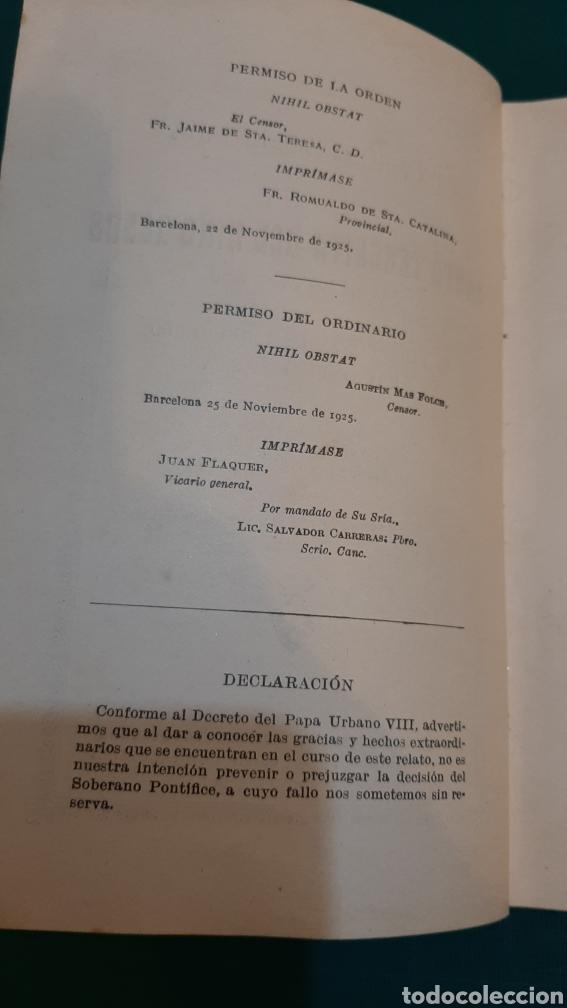 Libros antiguos: UNA ROSA DESHIJADA SANTA TERESINA DEL NIÑO JESÚS CARMELITA 1925 Buen estado - Foto 3 - 286319433