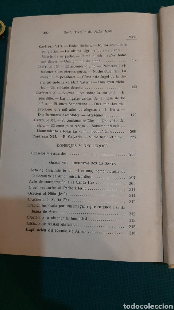 Libros antiguos: UNA ROSA DESHIJADA SANTA TERESINA DEL NIÑO JESÚS CARMELITA 1925 Buen estado - Foto 5 - 286319433