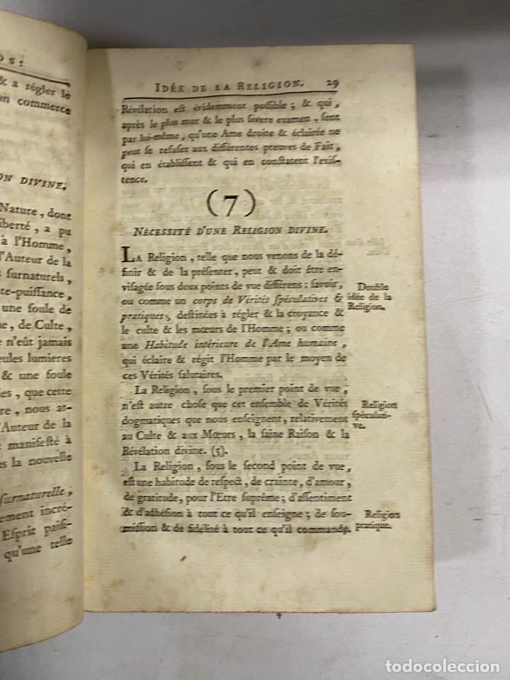 Libros antiguos: TABLEAU HISTORIQUE ET PHILOSOPHIQUE DE LA RELIGION. PARIS, 1784. PAGS: 552. EN FRANCES. - Foto 5 - 286622638