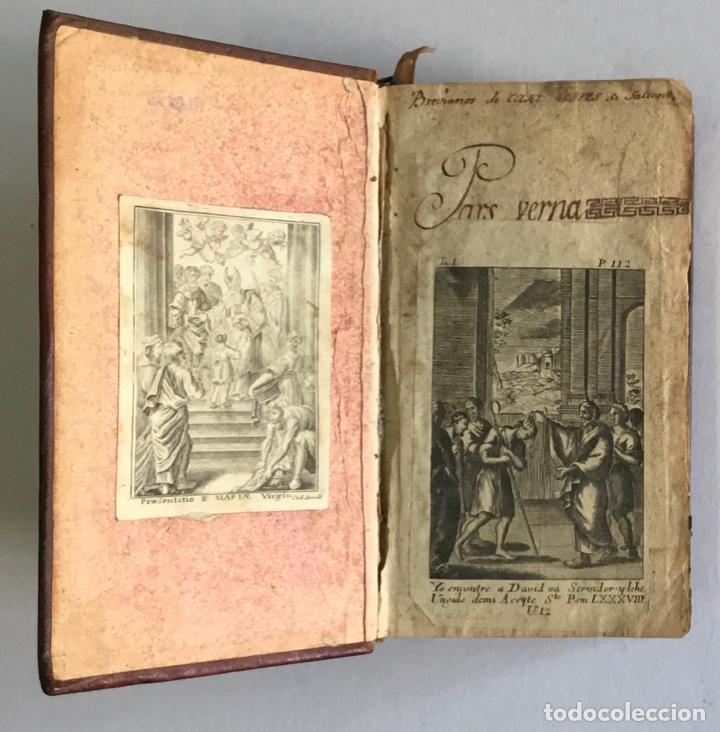 Libros antiguos: BREVIARIUM ROMANUM EX DECRETO SACROSANCTI... - [BREVIARIO.] 1749 - Foto 3 - 287218133