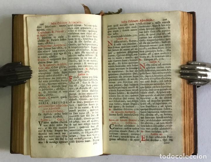 Libros antiguos: BREVIARIUM ROMANUM EX DECRETO SACROSANCTI... - [BREVIARIO.] 1749 - Foto 6 - 287218133