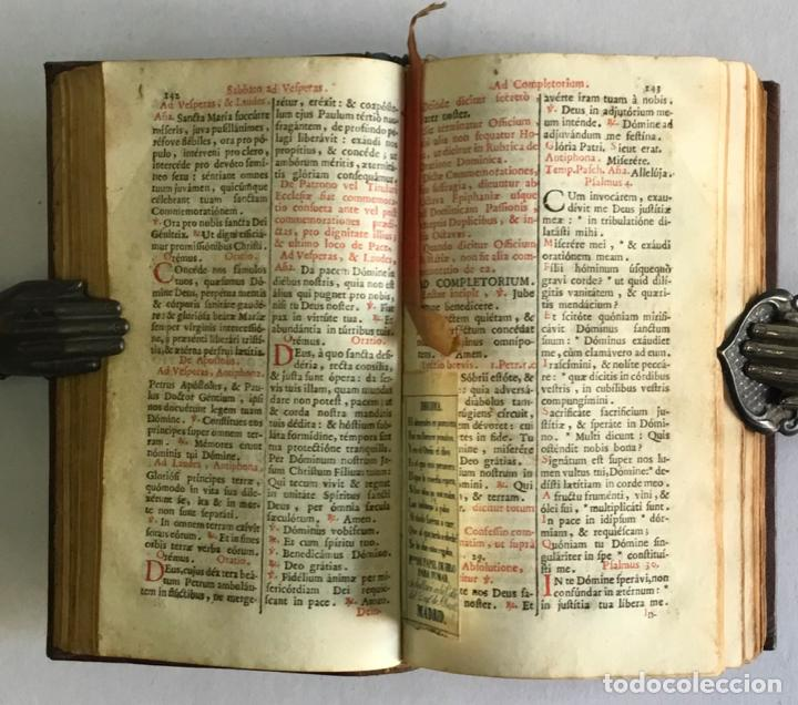 Libros antiguos: BREVIARIUM ROMANUM EX DECRETO SACROSANCTI... - [BREVIARIO.] 1749 - Foto 8 - 287218133