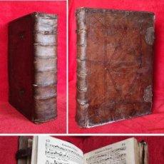Libros antiguos: AÑO 1742 - 48 CM - 11 KG DE PESO- IMPONENTE ANTIFONARIO DE IGLESIA - CANTO GREGORIANO - MUSICA. Lote 287626173