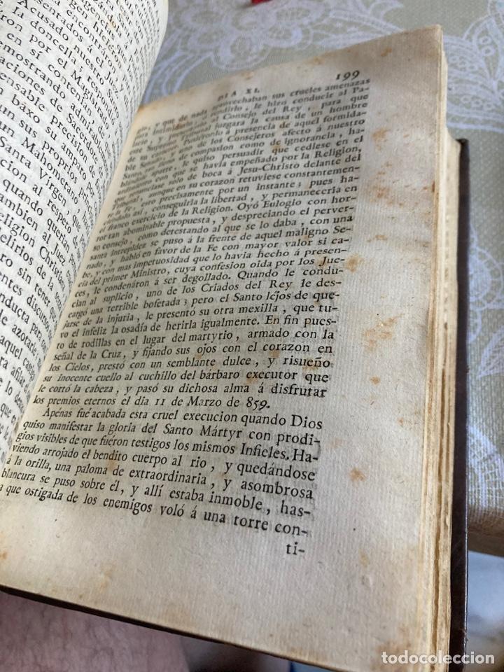 Libros antiguos: Lote de 2 libros año cristiano 1795, primera edición - Foto 5 - 288338918